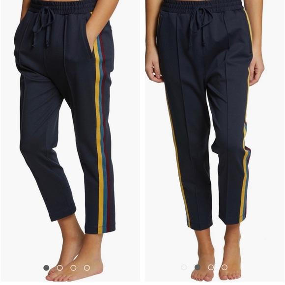 Spiritual Gangster Pants - Spiritual Gangster navy high waist jogger S (O1i)